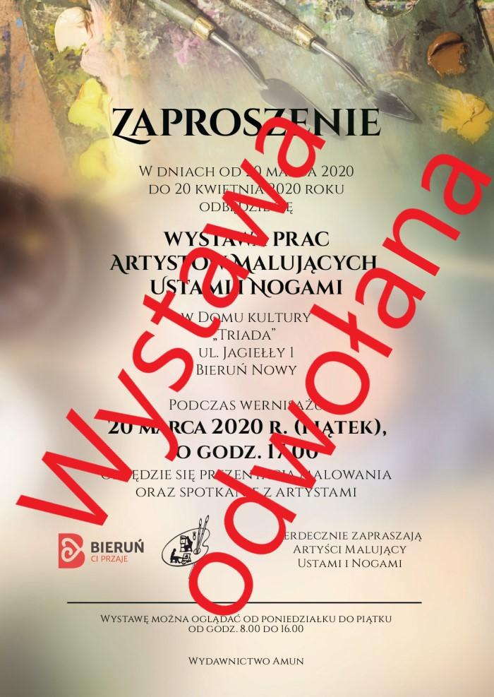Wystawa Artystów AMUN Bieruń Nowy