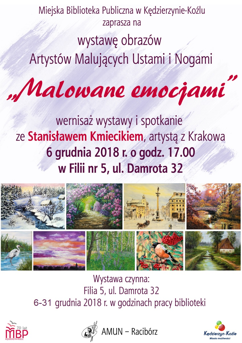 Wystawa Artystów AMUN Kędzierzyn Koźle