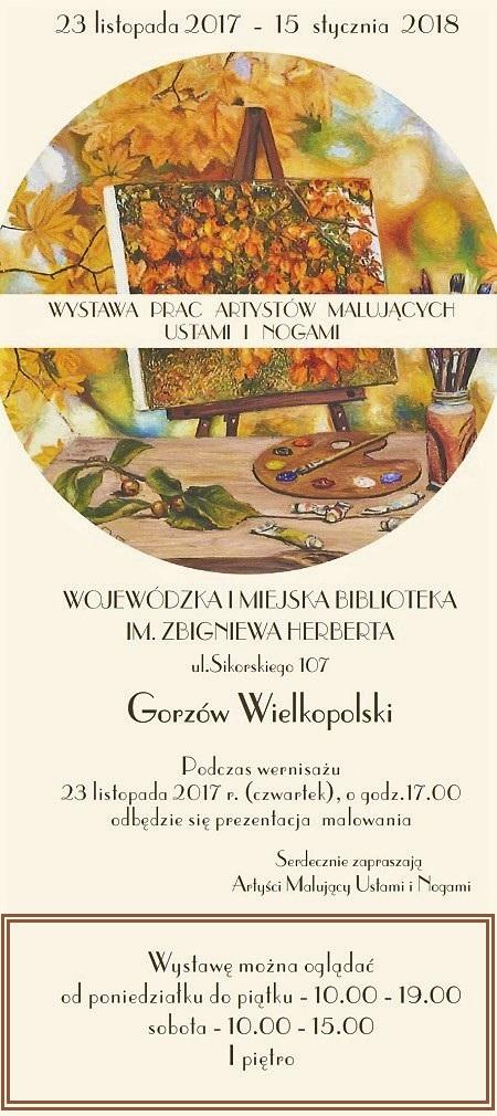 Wystawa Artystów AMUN Gorzów